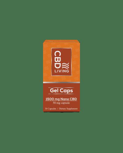 CBD Living 1500mg Capsules