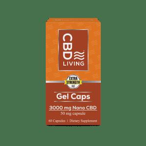 CBD Living 3000mg Capsule