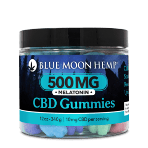 Blue Moon Hemp Gummies Melatonin
