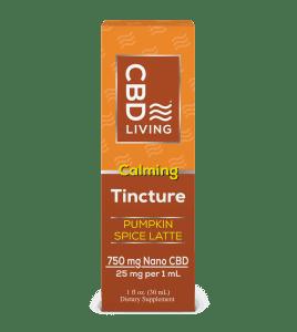 CBD Living Pumpkin Spice Latte Tincture