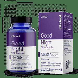 Elixinol Melatonin Capsule